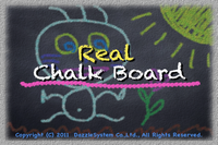 iPhone用アプリ:「リアル黒板 for iPhone」 2011年9月24日配信
